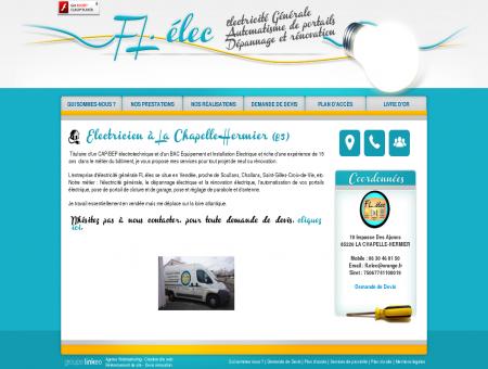 Electricien à La Chapelle-Hermier (85) -...