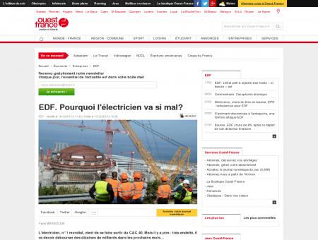 EDF : grosses interférences sur les lignes