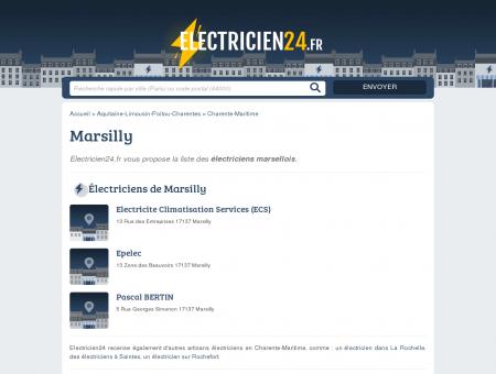 BERTIN PASCAL - ÉLECTRICIEN À MARSILLY...