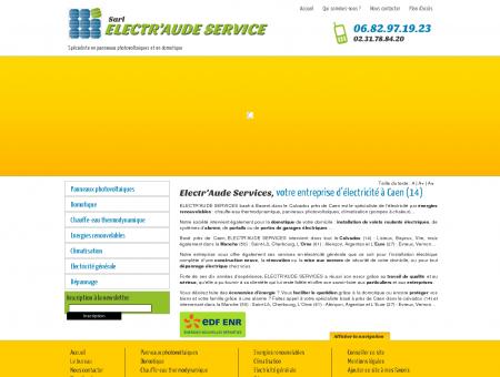 Electricien Caen, Electricité énergies...