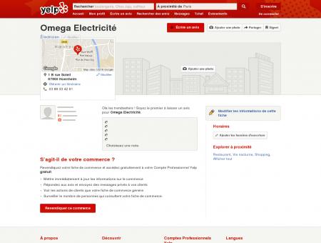 Omega Electricité - Électricien - Hoenheim,...