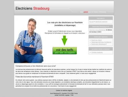 Un électricien moins cher à Hoenheim C'est...