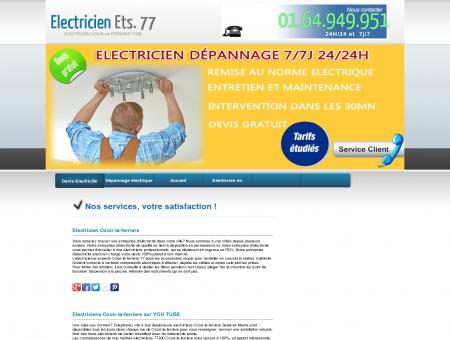Electricien Ozoir-la-ferriere - Intervention...