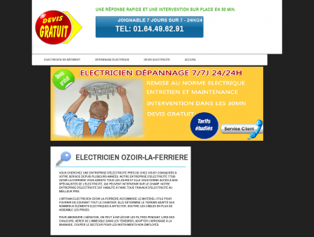 Electricien Ozoir-la-ferriere - Professionnel...