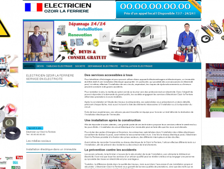 Electricien Ozoir-la-ferriere TEL:01 64 949 951