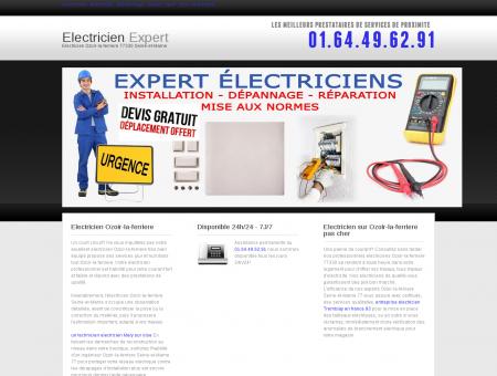Electricien Ozoir-la-ferriere | Baptiste emploi ...