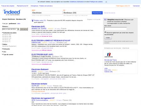Emploi Electricien - Bordeaux (33) - Travail |...