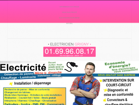 Electricien 91350 Grigny | Fred electricite...