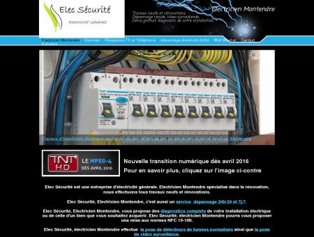 Electricien Montendre - Elec sécurité -...