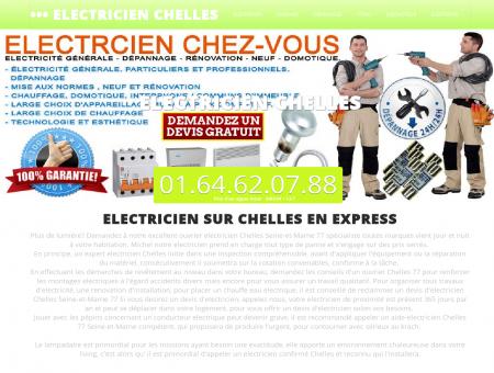 Electricien 77500 Chelles | Raphael joignable...