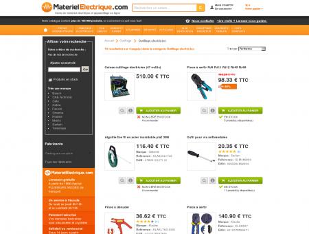 Outillage electricien sur MaterielElectrique.com