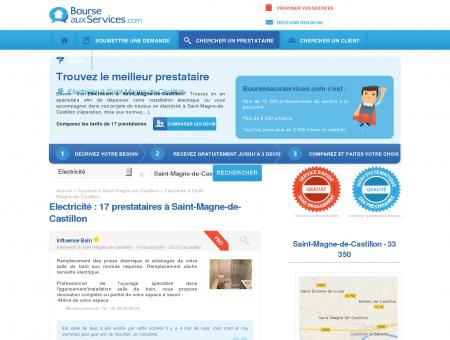 Electricien Saint-Magne-de-Castillon (33 350)
