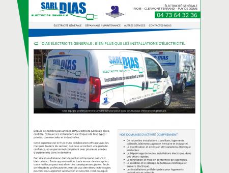 électricité générale RIOM - SARL DIAS...