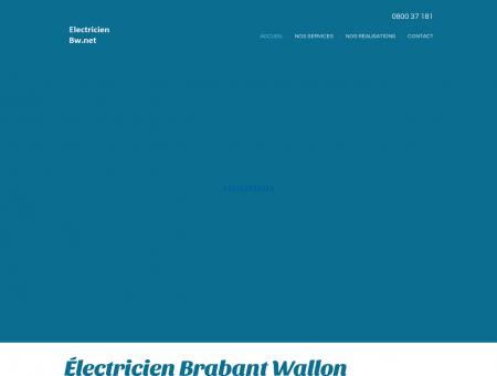Electricien Brabant Wallon tarif électricien...