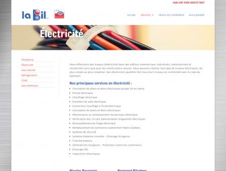 La Bil inc | entrepreneur électricien, électricité ...