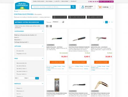 Soldes couteau electricien - Achat / Vente...