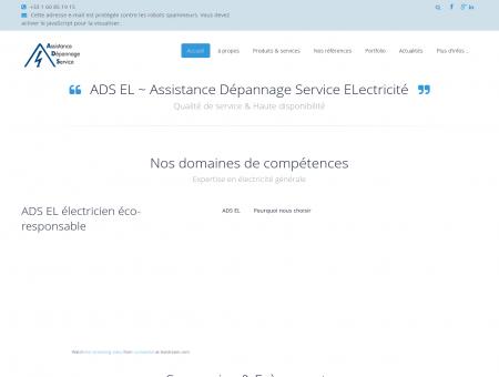 ADS EL - ADS EL | Electricien Brétigny-sur...