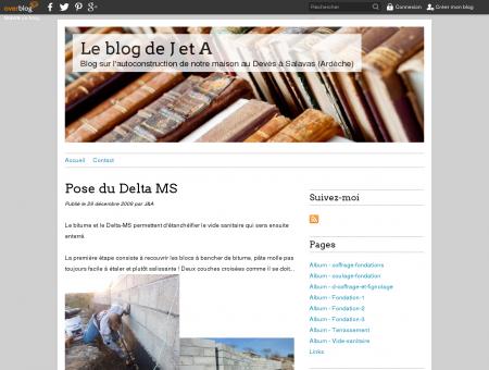 Pose du Delta MS - Le blog de J et A - Blog sur...
