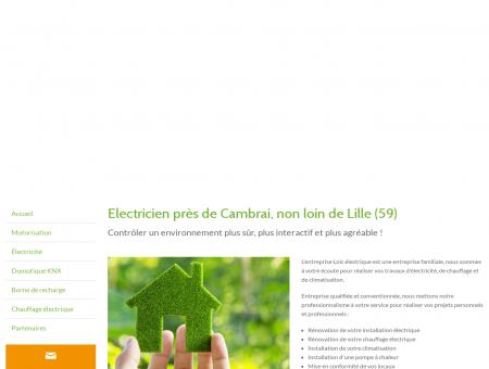 Electricien, Installation électrique - Avesnes-les...