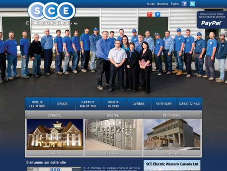 Entrepreneur électricien - SCE Électrique