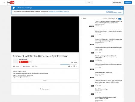 Comment Installer Un Climatiseur Split Inverseur - YouTube