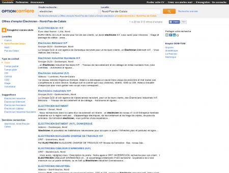 Offres d'emploi Électricien - Nord-Pas-de...