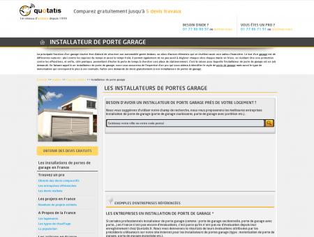 Installateur de porte garage - Entreprise...