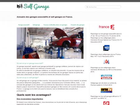 Self garage - SelfGarage: Annuaire des garages...