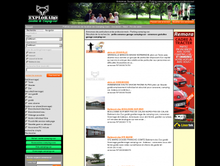 petite annonce garage camping-car - annonces...