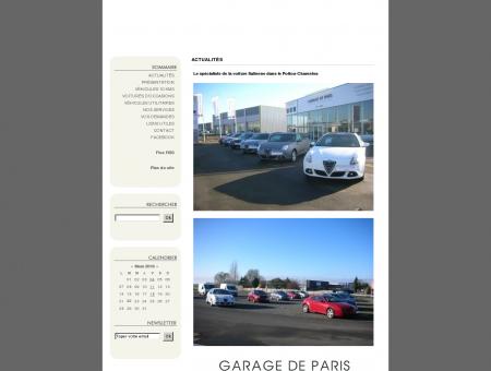 Garage de Paris, Votre spécialiste de la voiture...