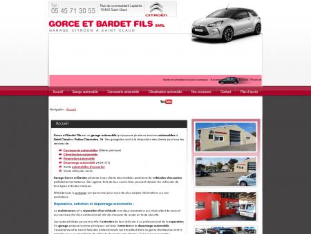 Gorce et Bardet Fils - Angoulême, 16, Poitou...