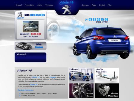 Garage Peugeot Jarny. Agent Peugeot...
