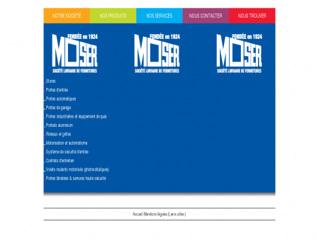Moser Fermetures
