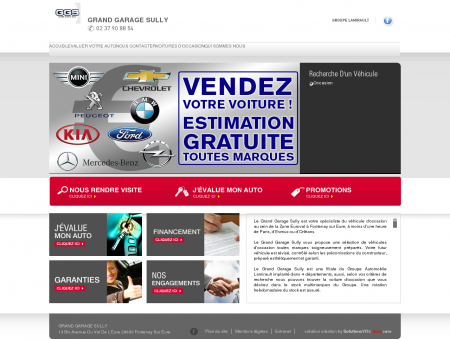 Grand Garage Sully Occasions Fontenay sur...
