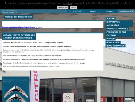 Garage, ventes automobiles à Pringy en Seine...