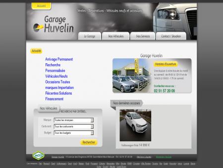 Garage Huvelin véhicules occasion neuf vendée...