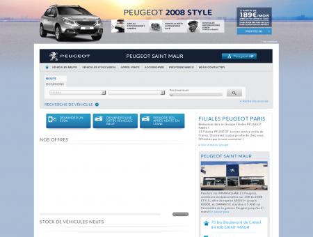 PEUGEOT SAINT MAUR - Garage Peugeot,...