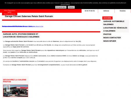 Garage relais Saint-Romain à Salernes (83)