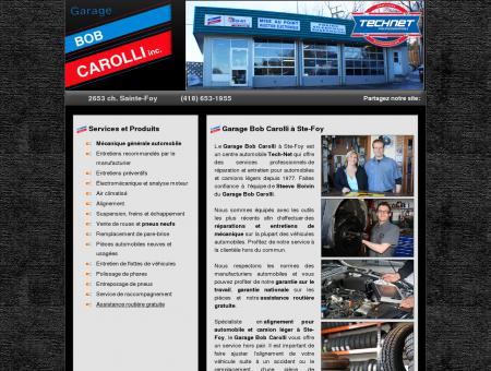 Garage Bob Carolli Sainte-Foy ¦ Pneus et...