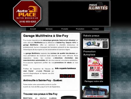 Multifreins | Garage ste-foy | Mecanique et...