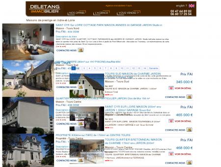 Agence immobilière Tours achat vente maison...