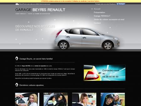 SAS GARAGE BEYRIS AGENT RENAULT :...