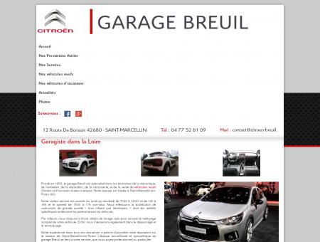 Garage auto Citroën, mécanique  Loire (42) |...