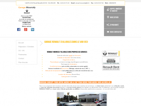 Garage Ollioules - GARAGE MOURCELY :...