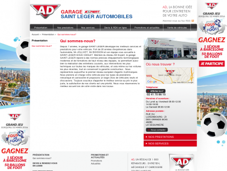 Garage SAINT LEGER AUTOMOBILES - Accueil ...