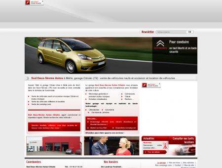 Sud Deux-Sèvres Autos, garage Citroën à Melle...