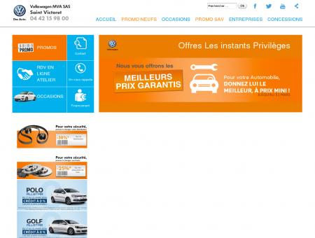 Bienvenue sur Volkswagen MVA SAS Saint...