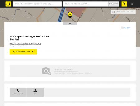 AD Expert Garage Auto A10 Santal Sainte...