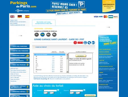 Grand Garage Saint-Laurent - Gare de l'Est