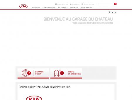 Concession Kia - Garage du Château Sainte...